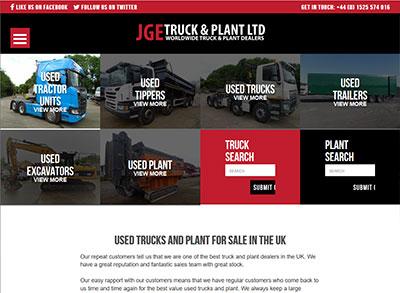 JGE Truck & Plant