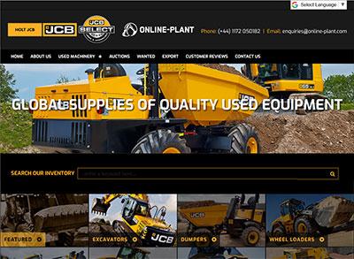 JCB Online Plant