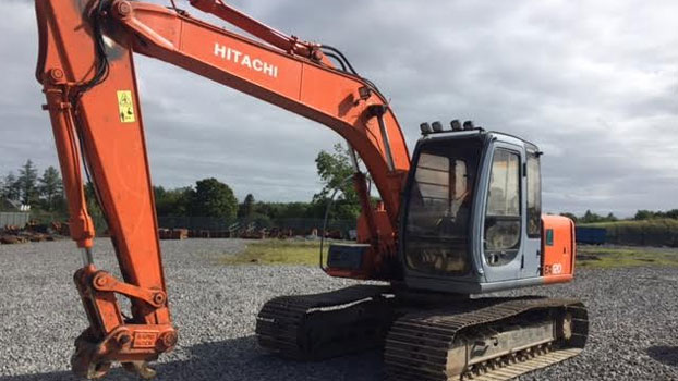 Package Deal of Two Units Hitachi EX120-5E